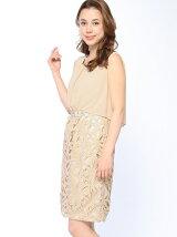 リボンレースドッキングドレス