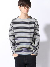(M)M BASQU STRIPED LONG SLEEVE T-SHIRTS