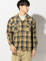 THE COMMON TEMPO/(M)BIG OPEN COLLOAR SHIRTS