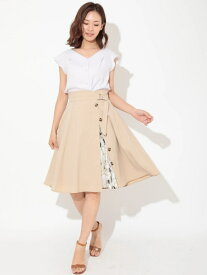 【SALE/30%OFF】Fabulous Angela 3WAYトレンチプリーツスカート ファビュラスアンジェラ スカート【RBA_S】【RBA_E】【送料無料】