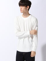 (M)M WARFFLE LOGO LONG SLEEVE T-SHIRTS