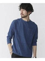インディゴボーダーカノコTシャツ 7S