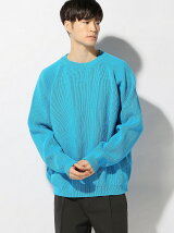 THE COMMON TEMPO/(M)POLYESTER BIG SWEATER