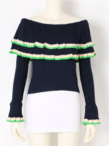CARMEN KNIT TOP