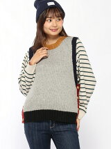 CUBE SUGAR/(W)CS ANTIQUE KNIT VEST