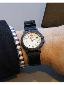 BEAMS JAPAN BEAMS JAPAN / ビームス ジャパン オリジナル 3針 フィールド ウォッチ ビームス ジャパン ビームス ジャパン ファッショングッズ 腕時計 ブラック【送料無料】