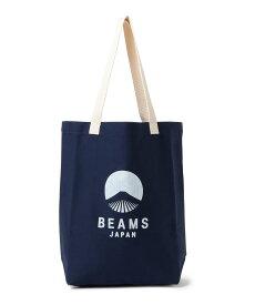 BEAMS JAPAN 【予約】evergreen works × BEAMS JAPAN / 別注 ビームス ジャパン カラー ロゴ トートバッグ ビームス ジャパン バッグ トートバッグ ブルー ブラック レッド【送料無料】