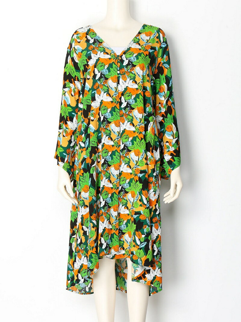 【SALE/60%OFF】SLY BRIGHTEN FLOWER GOWN スライ コート/ジャケット【RBA_S】【RBA_E】