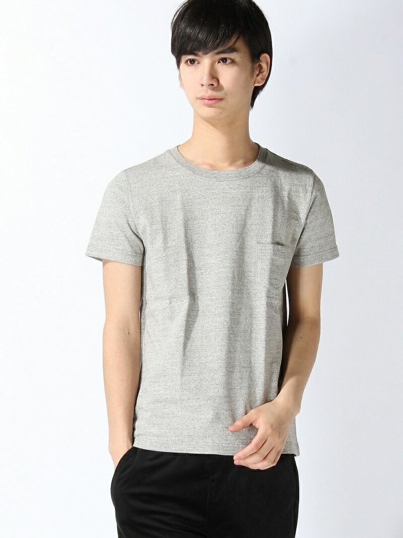 REMI RELIEF REMI RELIEF × BEAMS PLUS / 別注 ポケットTシャツ GRAY ビームス レミレリーフ ビームス メン カットソー【送料無料】