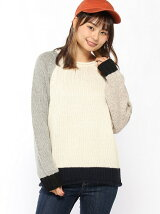 CUBE SUGAR/(W)CS ANTIQUE KNIT CREW