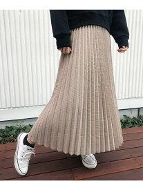 【SALE/72%OFF】aquagirl チェックプリーツスカート アクアガール スカート ロングスカート イエロー パープル【送料無料】