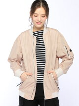 (W)W RECTAS MA-1 LONG JACKET WR