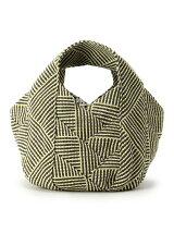 かご編みリバーシブルトートバッグ