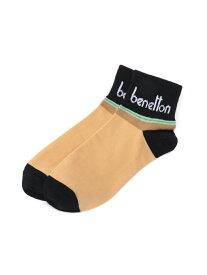 【SALE/35%OFF】BENETTON (UNITED COLORS OF BENETTON) (M)メンズストライプ柄Sソックス・靴下 ベネトン(ユナイテッド カラーズ オブ ベネトン) ファッショングッズ ソックス/靴下 イエロー レッド