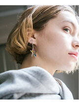 rehacer:Stained glass Star Earings