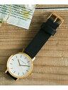 Sonny Label THEHORSETHEORIGINAL サニーレーベル ファッショングッズ 腕時計 ブラウン ピンク ブラック グレー【送料無料】