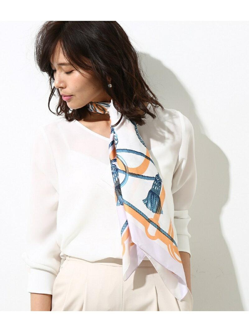 ROPE' ベルト柄スカーフ ロペ ファッショングッズ【送料無料】