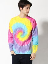 GOODWEAR/(U)L/S POCKET TEE TYE DYE