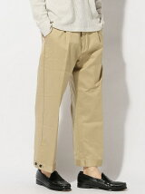 THE COMMON TEMPO/(M)CHINO WIDE PANTS
