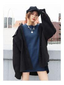 EMODA ボーイズスライバーウールシャツ エモダ コート/ジャケット ブルゾン ブラック【送料無料】