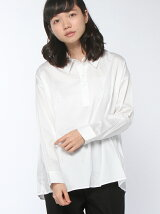 衿ロゴシャツ