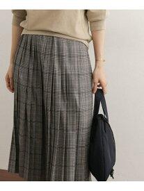 DOORS チェックプリーツスカート アーバンリサーチドアーズ スカート【送料無料】