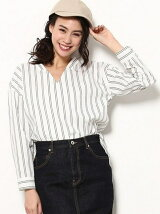【DRY MIX】Vネックプルオーバーシャツ