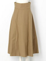 WIDE BELT VOLUME SKIRT