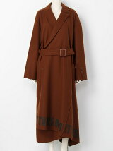 MELTON TWIST COAT