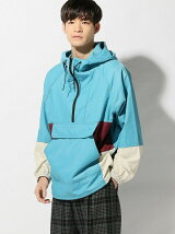 THE COMMON TEMPO/(M)NYLON ANORAK PARKA