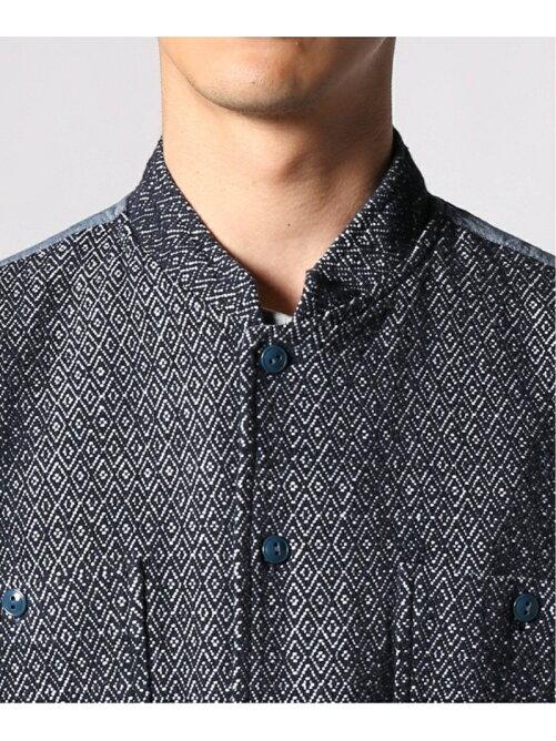 【OAXACA/オアハカ】Hand woven cotton combi SH