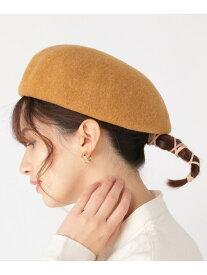 studio CLIP アラエルフンワリキレイベレー スタディオクリップ 帽子/ヘア小物 ベレー帽 イエロー カーキ グレー ブラック ブルー ベージュ