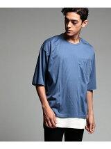 コットンキュプラスムース ビッグTシャツ