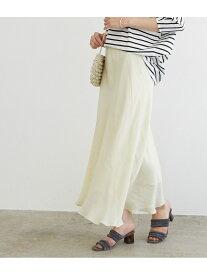 【SALE/70%OFF】ROPE' 【接触冷感】バイヤスマーメイドマキシスカート ロペ スカート スカートその他 ホワイト ベージュ グリーン【送料無料】