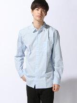 (M)ストレッチブロードシャツLS