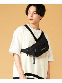 (M)BEN DAVIS BOXLOGO WAIST BAG ウィゴー バッグ【送料無料】