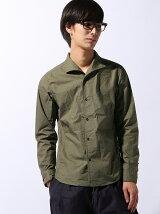 TETE HOMME/(M)キャンプカラータイプライターシャツ