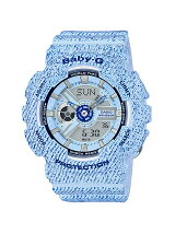 BABY-G/(L)BA-110DC-2A3JF/DENIM D COLOR