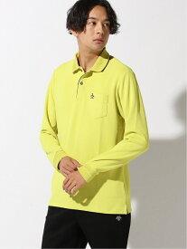 Munsingwear (M)ナガソデポロシャツ マンシングウェア カットソー ポロシャツ イエロー ネイビー パープル ホワイト【送料無料】