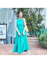 Rouge vif la cle 【MARIHA】別注夏のレディのドレス ルージュ・ヴィフ ラクレ ワンピース シャツワンピース グリーン…