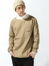 【別注】Sleeve Print L/S Shirt
