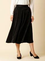 《INED》シャイニーワイドスカート
