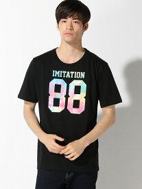 【SALE/23%OFF】WEGO (M)タイダイナンバリングTシャツ(S) ウィゴー カットソー【RBA_S】【RBA_E】