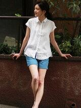 (W)リネンシャツ