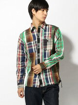 HOUSTON/(M)HOUSTON CHECK VIYELLA CRAZY SHIRT