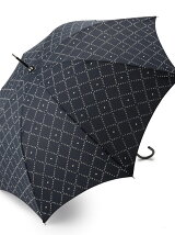 EG65 モノグラムチェック柄長傘(雨傘)