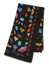 FOULARD_WINTER FLORAL BIG