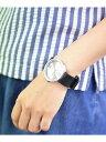【SALE/20%OFF】LEFF/チューブウォッチ D38 スチール/ブラック 腕時計 アントレスクエア ファッショングッズ【RBA_S…