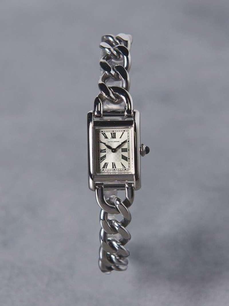 UNITED ARROWS 【予約】UBCB スクエア メタル チェーン 腕時計† ユナイテッドアローズ ファッショングッズ【送料無料】