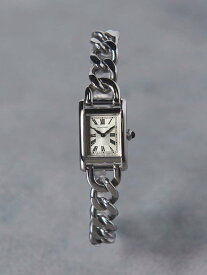 UNITED ARROWS UBCB スクエア メタル チェーン 腕時計† ユナイテッドアローズ ファッショングッズ 腕時計 ゴールド シルバー【送料無料】